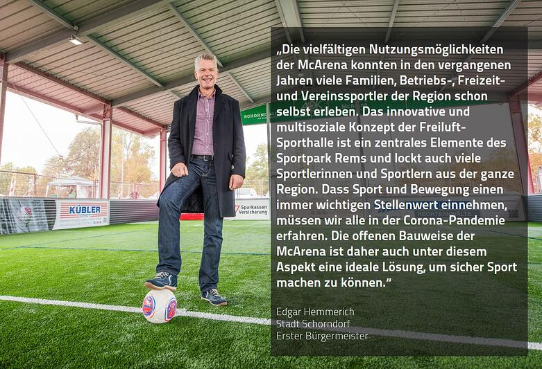 Feedback-MCA Stadt Schorndorf-Hemmerich