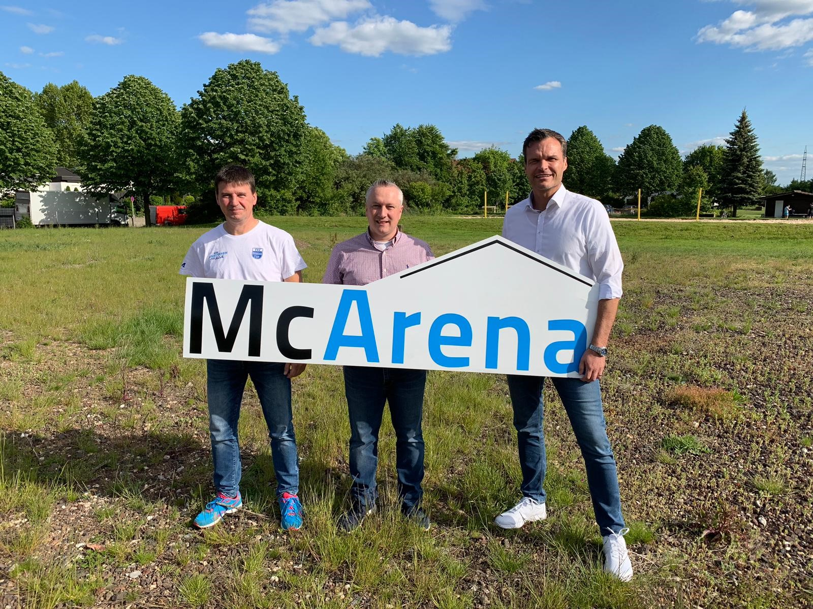 Baubeginn-McArena
