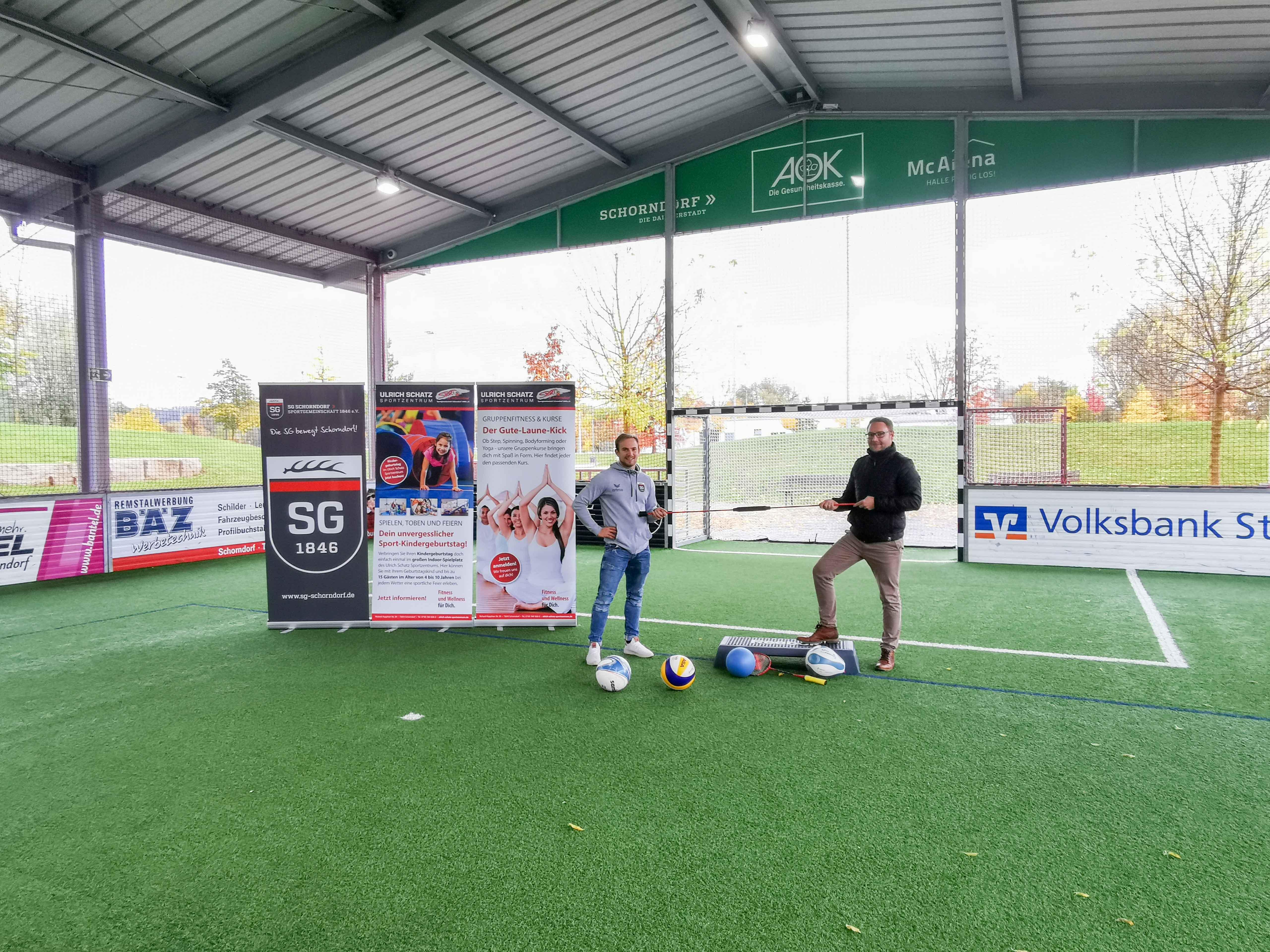 Übergabe der McArena im Sportpark Rems an SG Schorndorf